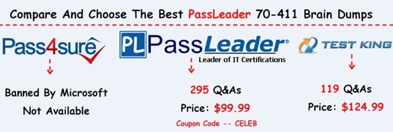 PassLeader 70-411 Brain Dumps[25]
