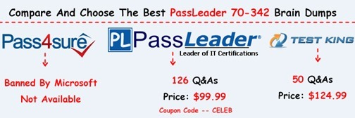 PassLeader 70-342 Exam Questions[24]